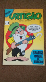 Urtigão N° 01 Junho De 1987 - Editora Abril