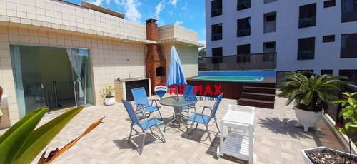 Imagem 1 de 30 de Cobertura Com 2 Dormitórios À Venda, 208 M² Por R$ 680.000,00 - Praia Da Enseada - Guarujá/sp - Co0283