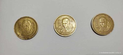 Monedas Mexicanas 1000 Pesos De 1988 Y 1989