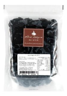 Alho Negro Do Sítio Descascado Gourmet 1 Kg Cada