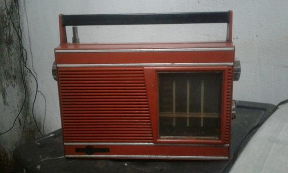 Radio Motoradio Antigo Vermelho