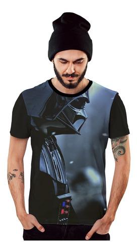 Imagem 1 de 5 de Camiseta Darth Vader Star Wars Armadura Negra
