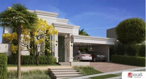 Casa Com 4 Dormitórios À Venda, 276 M² Por R$ 2.980.000,00 - Residencial Quinta Do Golfe - São José Do Rio Preto/sp - Ca2655