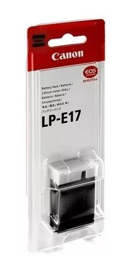 Bateria Canon Lp-e17 Original / Garantia Canon Brasil