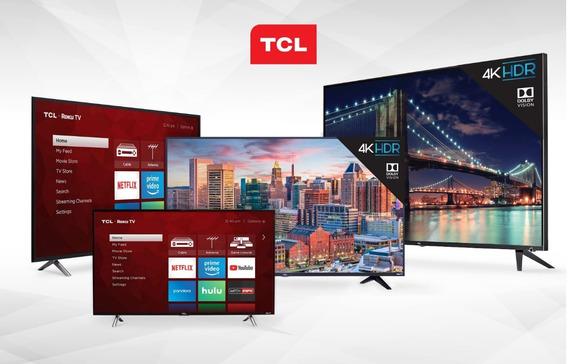 Televisor Smart Tv 4k 65 Marca Tcl Modelo 2019 - Tienda