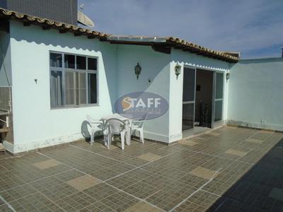 Cobertura Residencial Para Locação Fixa, Bairro Braga, Cabo Frio-rj - Co0138