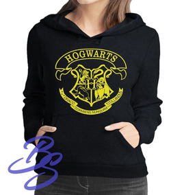 Moletom Harry Potter Feminino Hogowarts Blusas Potterheads