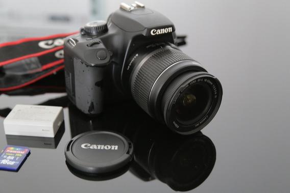 Canon Eos Rebel Xs Dslr + Lente 18-55mm + Cartão 16gb 45mb/s