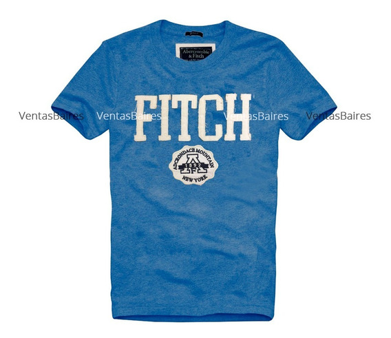 Remeras Abercrombie And Fitch Bordadas A00154 Hac/envios