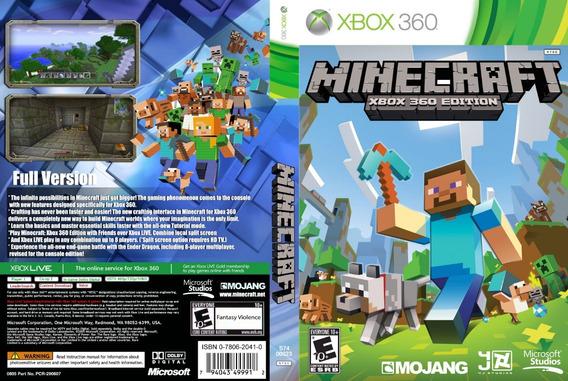 Minecraft Para Lt3.0 Rgh Jtag Midia Fisica....