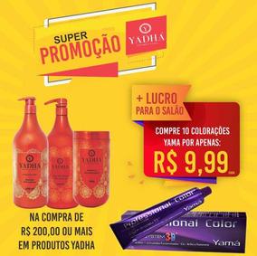Coloração, Tonalizante (yamá), Máscara Etc (combo)