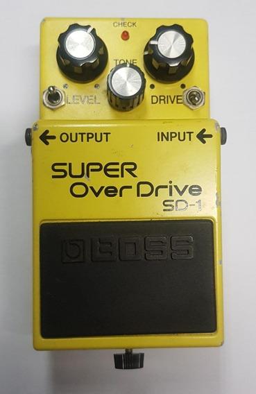 Pedal Boss Sd1 Jrmod Sd-ss Cuervo V.1 Super Overdrive