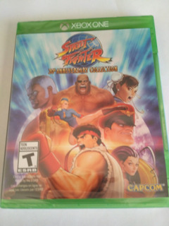 Street Fighter 30th Anniversary Collection Xbox One Nuevo