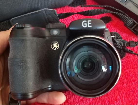 Câmera Semiprofissional Ge 14.1mp + Acessorios