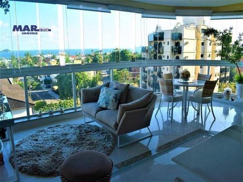 Imagem 1 de 26 de Apartamento Com 3 Dormitórios À Venda, 132 M² Por R$ 1.485.000,00 - Enseada Guaruja - Guarujá/sp - Ap9851
