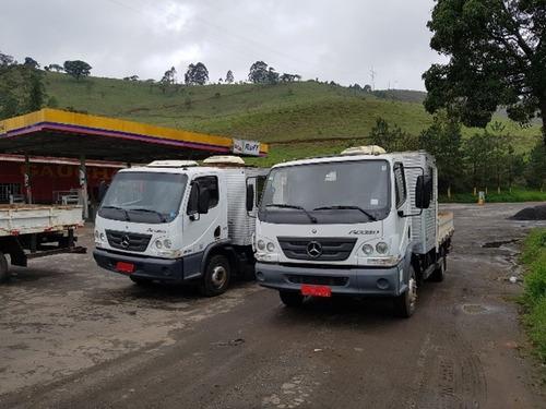 Caminhões 3/4 Cabine Suplementar / Cabine Auxiliar