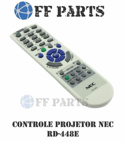 3x Controle Original Nec Projetor Data Rd-448e V260r Ve280x
