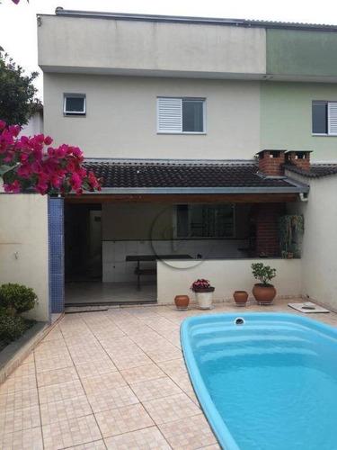 Sobrado Com 3 Dormitórios À Venda, 229 M² Por R$ 1.145.000,00 - Vila São Pedro - Santo André/sp - So0894