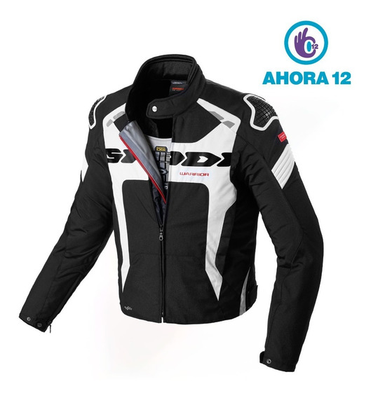 Campera Moto Spidi Warrior H2out Impermeable - Ahora 12