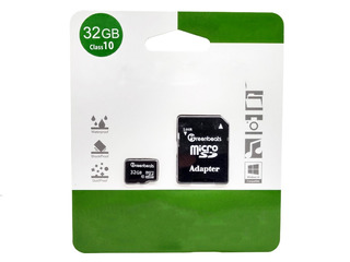 Memoria Micro Sd 32gb Clase 10 Greenbeats Fotos Videos Doc