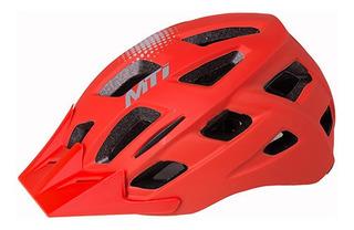 Casco Ciclismo Bicicleta Mti Street 3 Con Luz - Racer Bikes