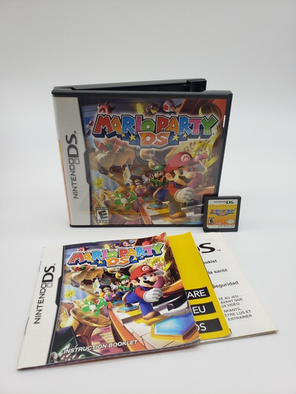 Mario Party Nintendo Ds Original Americano Completo