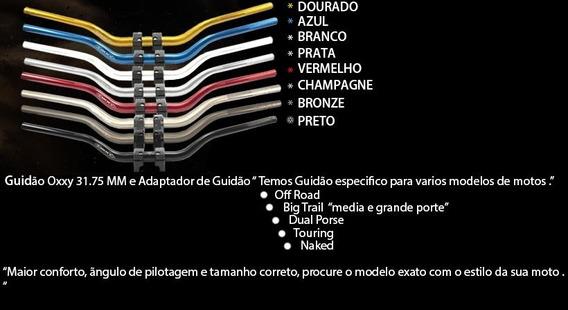 Guidao Oxxy Alto Vermelho Com Adaptador 31,75mm