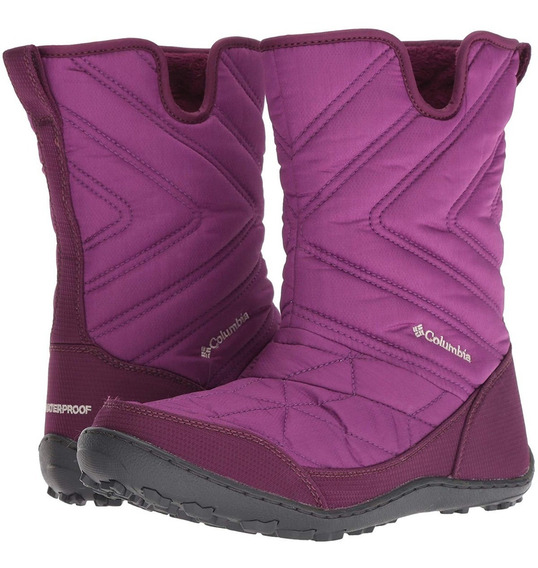 Bota De Invierno Nieve Y Frio Columbia Minx Slip-on