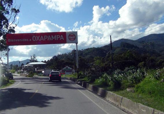 Ocasión!!! Vendo Lote De Terreno Casa En Oxapampa