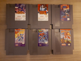 Megaman 1 2 3 4 6 - Nes Original