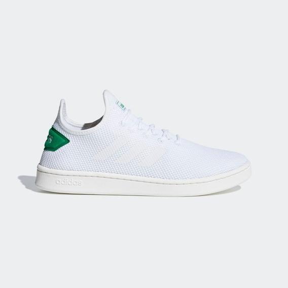 Tenis Masculino adidas Branco Court Adapt Basico Original