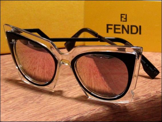 Óculos De Sol Fendi Orchidea Unisexx Já No Brasil °1038°