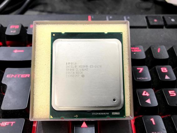 Processador Intel Xeon E5-2670 8c/16th Turbo Max 3.3ghz X79