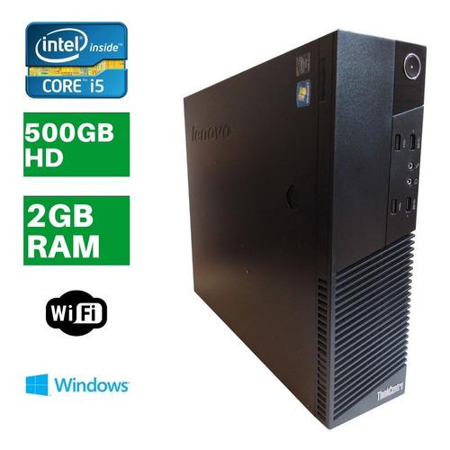 Computador Lenovo M93p Intel I5 4gb Hd 500 + Brindes