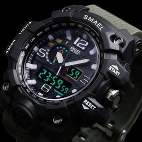 Relógio S Shock Esportivo Masculino Quartzo De Led
