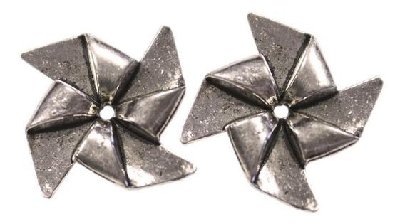 Lata De Dijes De Molinillo Pin Wheel X 10 Unidades