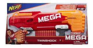 Nerf Mega Twinshock Nstrike Pistola Lanza Dardos