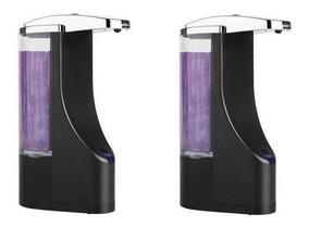 2 Saboneteira Automática C/ Sensor Sabonete Ou Alcool Em Gel