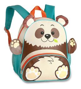 Mochila Infantil Animais Zoo Clio Pets Original