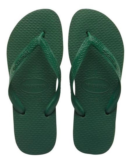 Zonazero Havaianas Ojotas Color Verde Unisex Originales