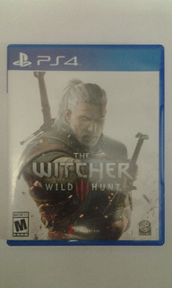 Ps4 The Witcher 3: Wild Hunt $599 Pesos Seminuevo Mikegames