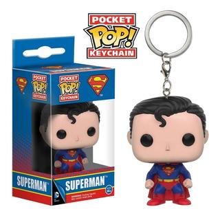 Funko Pop Keychain Superman Dc Comics