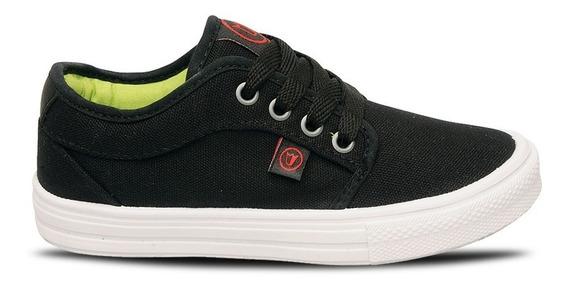 Zapatillas Prowess 1186 Skate Urbana Lona Unisex Negra 27-34