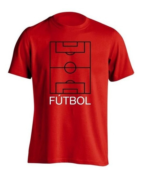 Remera Fútbol Frases Cancha H
