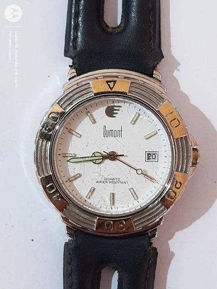 Relógio Dumont Water Resistant Quartz Anos 90