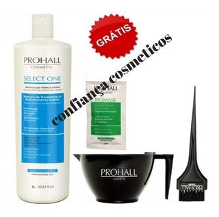 Prohall Selagem 1 Litro Select One + Cambuca Pincel E Sache