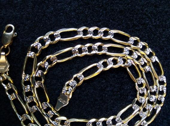 Cadena 28g De Oro 14k Diamantada Oro Macizo Oferta
