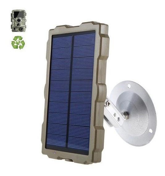 Painel Solar Câmera Trilha Ent 5v / Saída 6v / Hc-800a Etc..