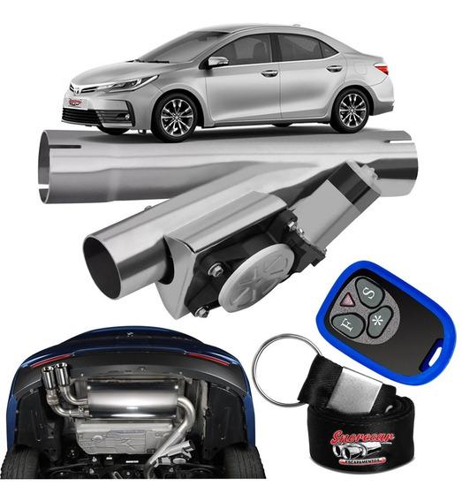 Difusor De Escapamento Esportivo Cromado - Toyota Corolla