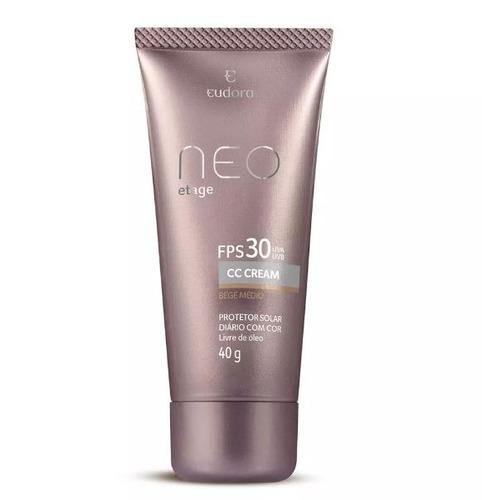 Eudora - Neo Etage - Cc Cream - Protetor Solar Com Cor